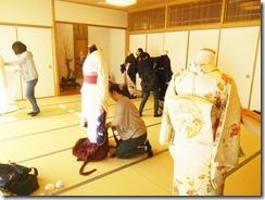 着付師の練習会 (1)