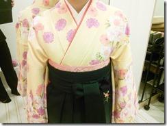 袴の出張着付で一球入魂 (3)