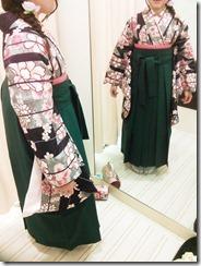 かわいい袴の出張着付 (3)