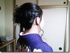 ヘアメイクと袴の出張着付 (6)