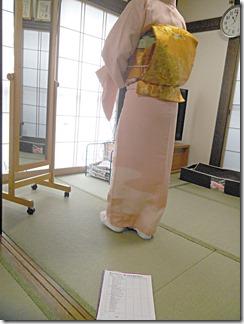 訪問着に留袖と袋帯の着付けをマスター(^o^)♪