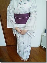 花火大会に浴衣で観覧に (2)