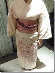 七夕に浴衣の出張着付け (4)