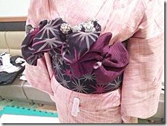 シダックス着付教室で浴衣にかわいい帯結び (4)