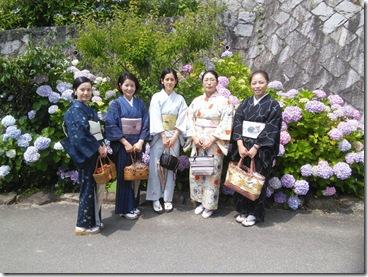 着物で観音寺と5day's marketに (4)
