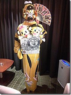 三連戦の最終日 タイガース柄の着物でズムスタへ (2)