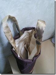 袋帯と夏の名古屋帯をバッグに (2)