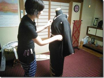 高須教室の着付テスト (2)