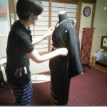 美和きもの教室の着付テスト(*^_^*)♪