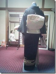 高須教室の着付テスト (3)