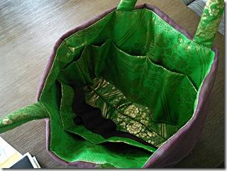 袋帯と夏の名古屋帯をバッグに (4)