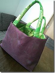 袋帯と夏の名古屋帯をバッグに (6)