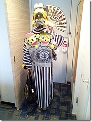 ホテルグランヴィア広島にタイガース女子を着付に (2)