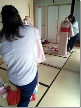 帯結びのイメージトレーニング (2)