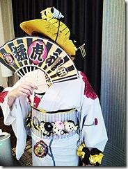 カープ戦最終日のタイガース女子着付(*^_^*)♪