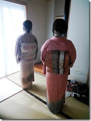 礼装着のお稽古を温品教室で (2)