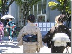 着物で県立美術館とランチに (7)