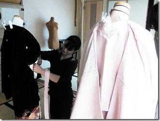 美容師さんの他装着付練習(^。^)♪