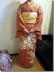着付師 島さん七五三詣りの出張着付に (2)