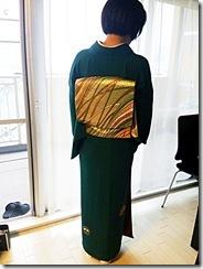 七五三詣りにシックで素敵なお着物と帯 (3)
