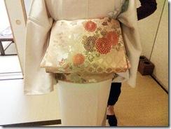 普段着の着物着付け練習 (5)