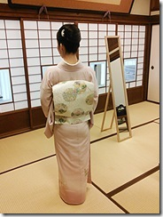 広島県神社庁CM撮影の着付に速谷神社へ (6)