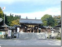 広島県神社庁CM撮影の着付に速谷神社へ (8)
