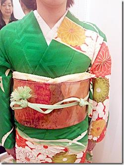 着付師 吉田さんの振袖着付
