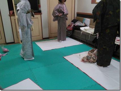 広島のきもの教室なのです(*^_^*)♪