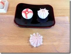 和菓子作り体験へ (12)