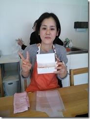 和菓子作り体験へ (17)