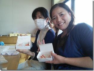 和菓子作り体験へ (19)