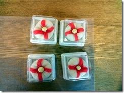 和菓子作り体験へ (4)