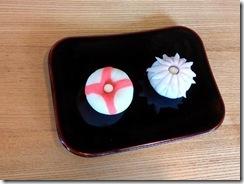 和菓子作り体験へ (8)