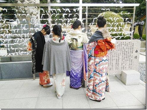 2016年着物で初詣 (10)