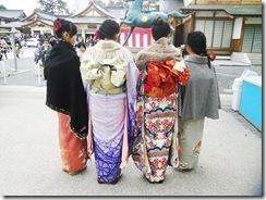 2016年着物で初詣 (8)