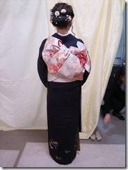 成人式に着付た振袖の帯結 (36)