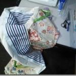 花嫁衣装の収納バックを製作(^O^)/♪