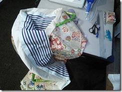 花嫁衣装の収納バックを製作 (3)