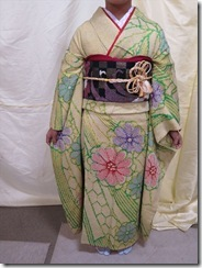 成人式に着付た振袖の帯結 (40)