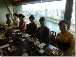 美和きもの教室の初詣&サンルート広島へ (4)