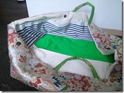 花嫁衣装の収納バックを製作 (4)