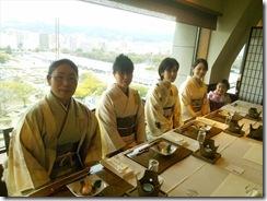 美和きもの教室の初詣&サンルート広島へ (5)