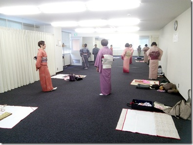 広島リビングカルチャーの着付教室