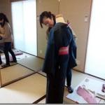 着物の自装から他装の世界へ(*^^*)♪