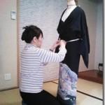 美和きもの教室の着付コーステスト