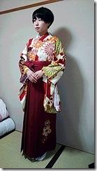 かわいい袴出張着付 (2)