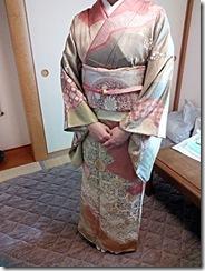 卒園式にピッタリの出張ヘアセットと着物着付を (2)