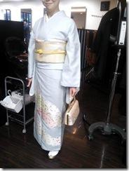 ハーツヘアーズに袴と訪問着の出張着付 (2)