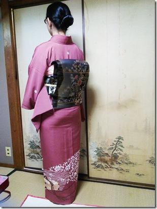 沖縄から帰広されて出張着付を (3)